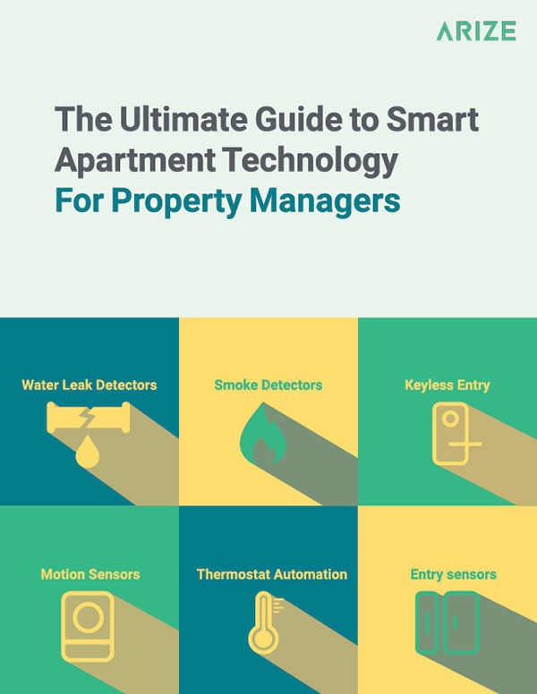 Ultimate guide to apartment technology for property managers ebook cover